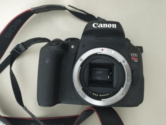 Canon T6i Muito Nova Com Nota Fiscal 39k
