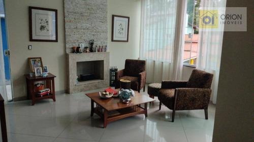 Casa Com 3 Dormitórios À Venda, 270 M² Por R$ 780.000 - Chácara Roselândia - Cotia/sp - Ca1035