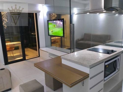 Imagem 1 de 18 de Flat Com 1 Dormitório Para Alugar, 38 M² Por R$ 3.000,00/mês - Bela Vista - São Paulo/sp - Fl0033