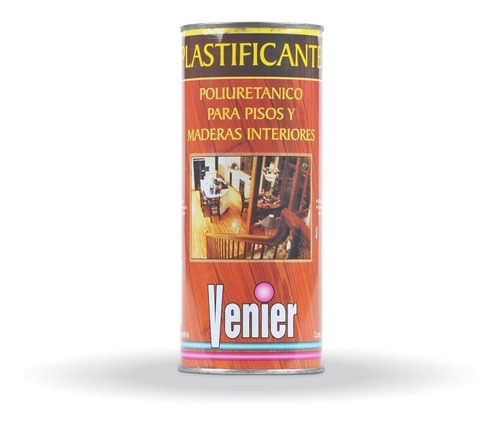 Plastificante Para Piso Venier Poliuretanico 1lt Pintumm