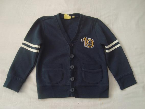 Sweater Just 4 Kids Talla-3 Color Azul Marino