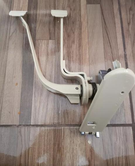 Pedaleira Completa Marfim C/pedal Acelerador Fusca/ Brasilia