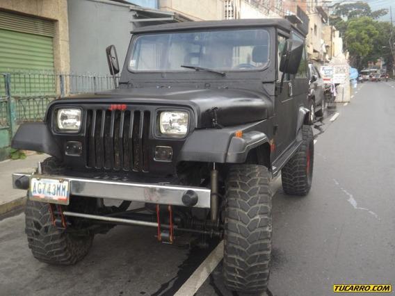 Jeep Wrangler Chasis Largo