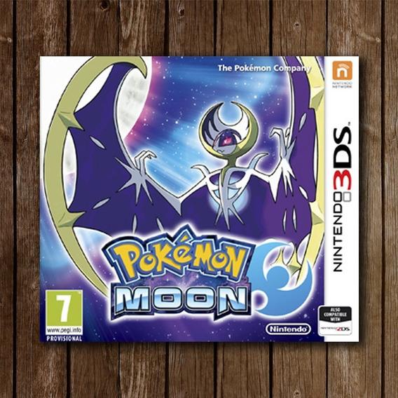 Pokémon Moon - Nintendo 3ds Novo Lacrado Frete Grátis