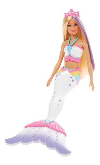 Boneca Barbie - Barbie Dreamtopia - Sereia Com Canetinhas Cr