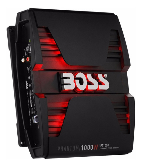 Potencia Amplificador Boss Pt1000 1000w 2 Canales Luz Led