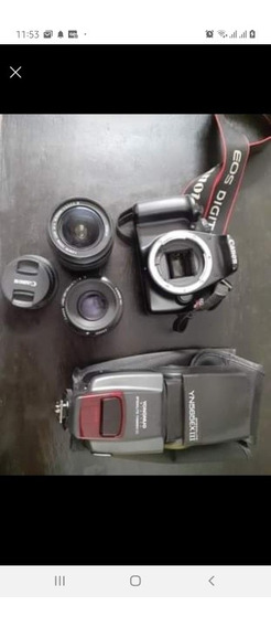 Câmera Canon T3 + Lente Do Kit + Lente 50mm* + Flash Yongnuo