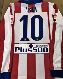 Camisa Atlético Madrid Usada Jogo 2013/14 & Autografada