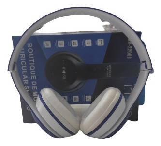Headphone Bluetooth Fon-2200 Inova Azul/branco