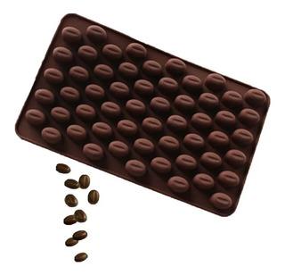 Molde De Silicon Grano De Cafe
