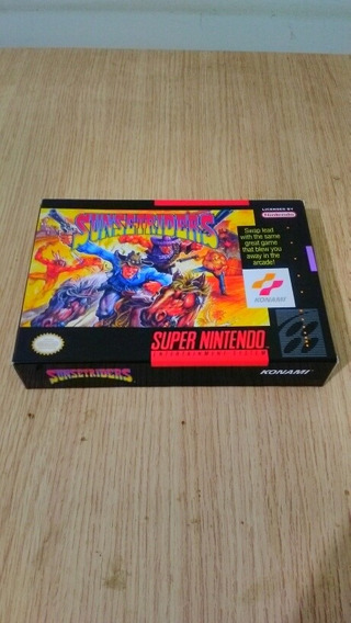 Cartucho Original Snes Sunset Riders