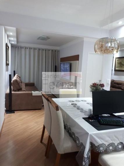 Apartamento Com 02 Dormitórios, 01 Suíte, 02 Vagas E Depósito - Cf21872
