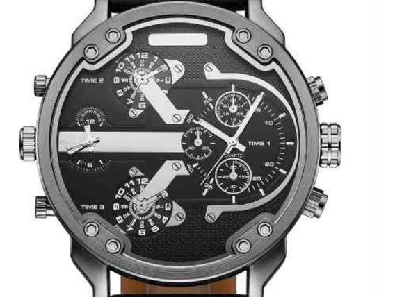 Relógio Masculino Importado Oulm Original 5.6cm Dial