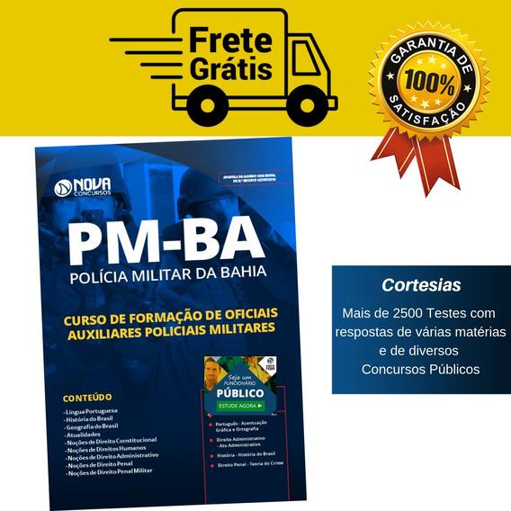 Apostila Formação Oficiais Auxiliares Concurso Pm Ba 2019