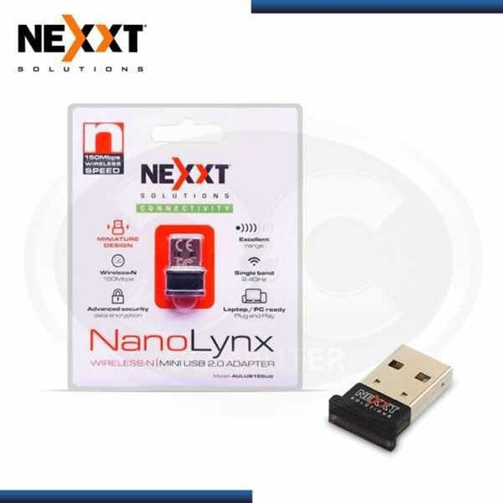 Adaptador Inalambrico Wifi Nexxt Nano Linx 150