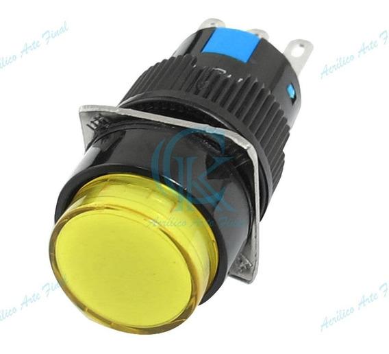 Botão Para Máquinas De Corte A Laser