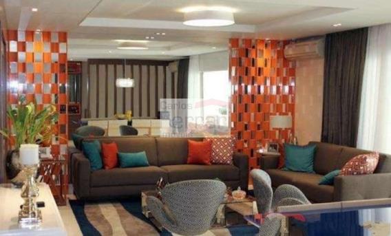 Apartamento Com 4 Quartos À Venda, 320 M² Por R$ 3.550.000 - Cf22377