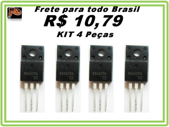 K8a60da - Tk8a60da - 8a 600v Kit 4 Peças Promoção