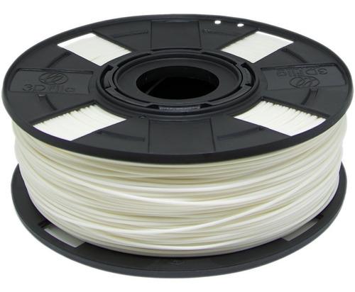 Filamento Abs Premium 1,75 Mm 500g Impressora 3d Branco