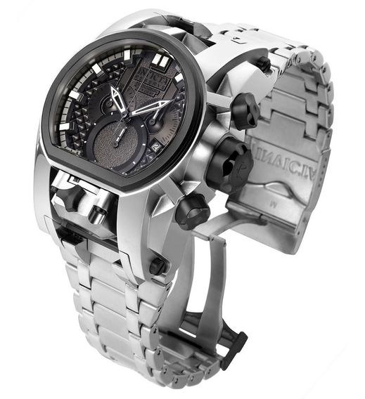 Reloj Invicta Hombre Bolt Zeus Magnum 52mm Plateado De Suiza