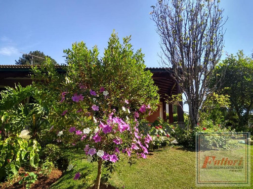 Imagem 1 de 15 de Chácara Para Venda Em Itatiba, Condomínio Morada Das Fontes, 5 Dormitórios, 2 Suítes - Ch0026_2-1216191