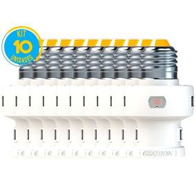 Kit 10 Soquete Fotoelétrico E27 Relé Automático - Bivolt