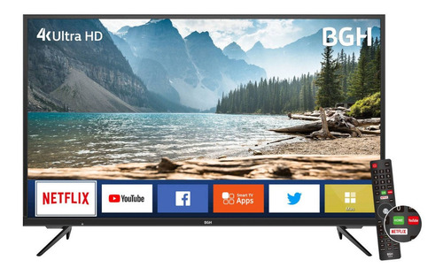 Imagen 1 de 4 de Smart Tv Bgh 50  B5020uk6 4k Netflix Youtube Delta