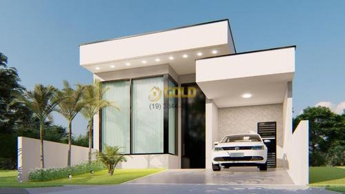 Imagem 1 de 8 de Vendo Casa Em Condomínio Fechado Em Paulínia Sp