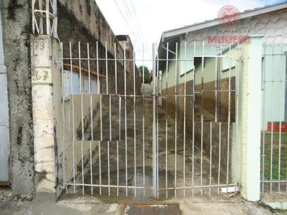 Casa Com 2 Dormitórios Para Alugar, 80 M² Por R$ 590,00/mês - Paulicéia - Piracicaba/sp - Ca0583