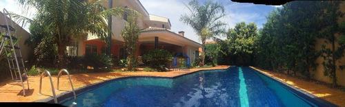 Casa Com 4 Dormitórios À Venda, 485 M² Por R$ 2.300.000,00 - Parque Residencial Damha - São José Do Rio Preto/sp - Ca1194