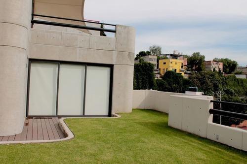 Bonito Penthouse Nuevo En Venta En Tecamachalco Con Vigilancia Las 24 Hrs