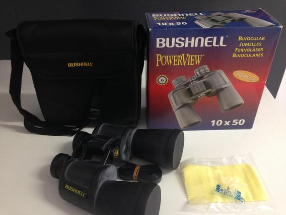 Binóculo Bushnell Powerview 10x50, Função Zoom, Apoio Ocular