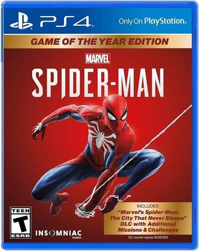 Imagen 1 de 3 de Spider Man Game Of The Year Edit. Ps4-fisico/ Mipowerdestiny