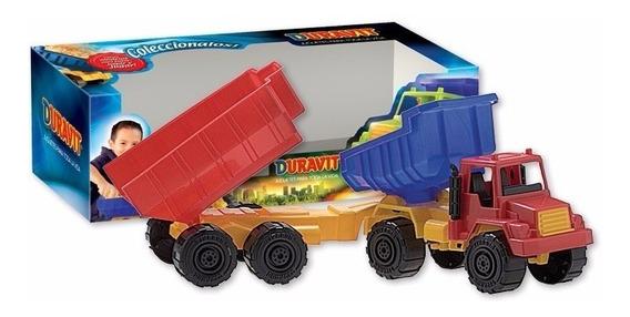 Camion Duravit Con Acoplado Y Volquete 209