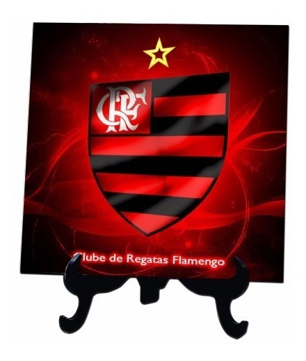 Azulejo Personalizado Flamengo 20x20 Cm Mod.02