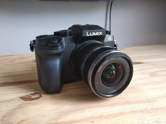 Panasonic Lumix G7 4k+lente 12-40 Completa