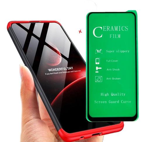 Funda Forro Estuche 360 º De Lujo + Vidrio 5d Samsung A51