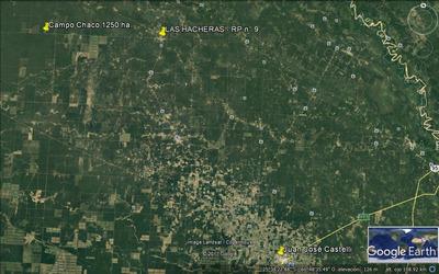 Campo De 1.250 Ha - 100 Km Al Noroeste De J.j. Castelli