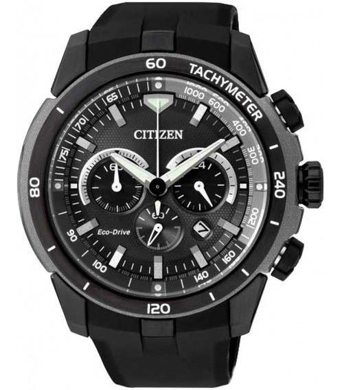 Relógio Citizen Masculino Eco Drive Cronógrafo Ca4157-09e