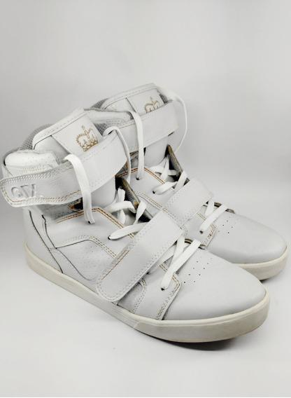 Sneakers Qix Branco/dourado
