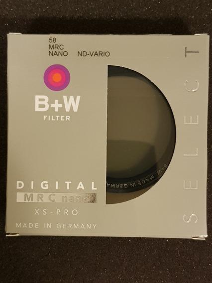 Filtro B+w 58mm Nd Vario 1-5 Stops Mrc Nano