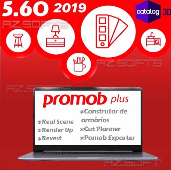 Promob Plus 2019 Renderup+cut+plugins+real Scene