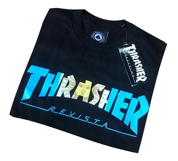 Remera Thrasher Orig Argentina Logo. Envío A Todo El País.