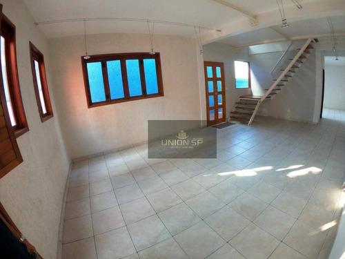 Imagem 1 de 12 de Sobrado À Venda, 195 M² Por R$ 596.000,00 - Vila Mascote - São Paulo/sp - So4621