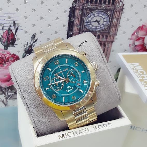 Relógio Feminino Mk8315 100 Series Azul - Michael Kors