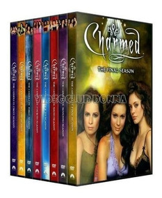 Hechiceras Charmed Serie Completa Temporada 1 - 8 Latino Dvd