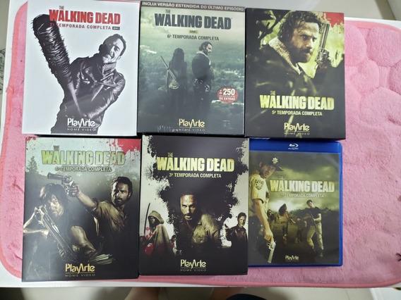 Kit Blu-ray The Walking Dead(temporadas)