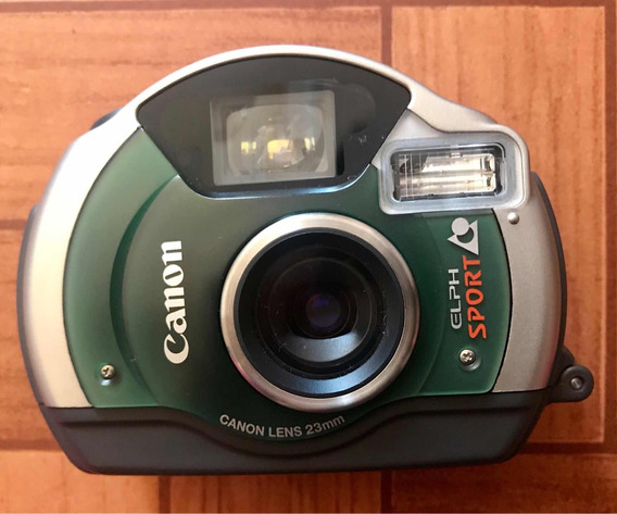 Camera Canon Elph Sport 23 Mm Prova Dágua Capinha Protetora