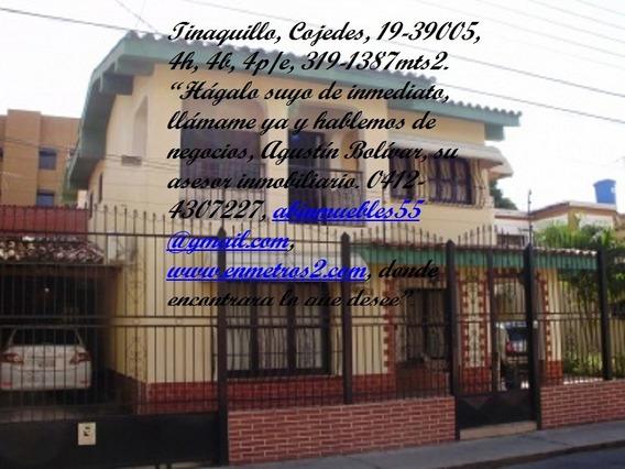 Casa En Venta Tinaquillo Centro, Cojedes, Enmetros2 19-39005