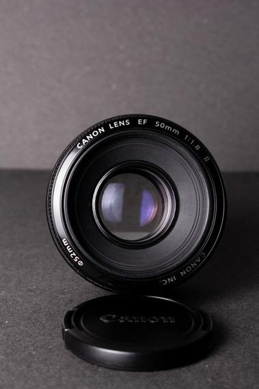 Lente Ef Canon 50mm 1.8 Il